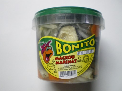 Imagine Macrou marinat 315 grame