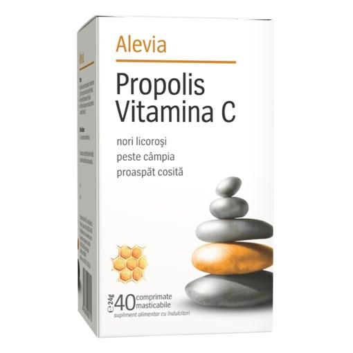 Imagine Propolis vitamina C Alevia 40cp masticabile