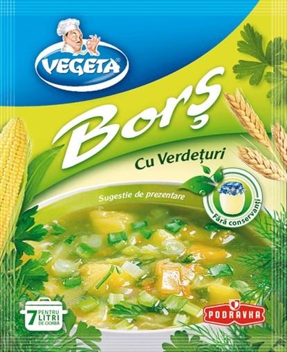 Imagine Vegeta Bors cu verdeturi 70 gr.