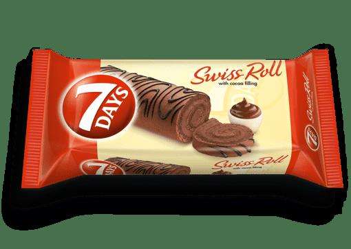 Imagine 7days Swiss roll cacao 200g