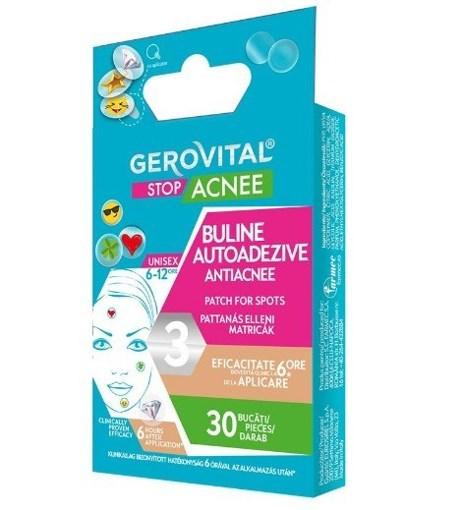 Imagine Buline autoadezive antiacnee Gerovital 30buc