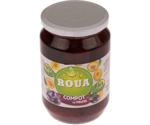 Imagine Compot de prune Roua 680g