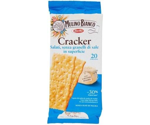 Imagine Cracker nesarati Barilla Mulino Bianco 500g