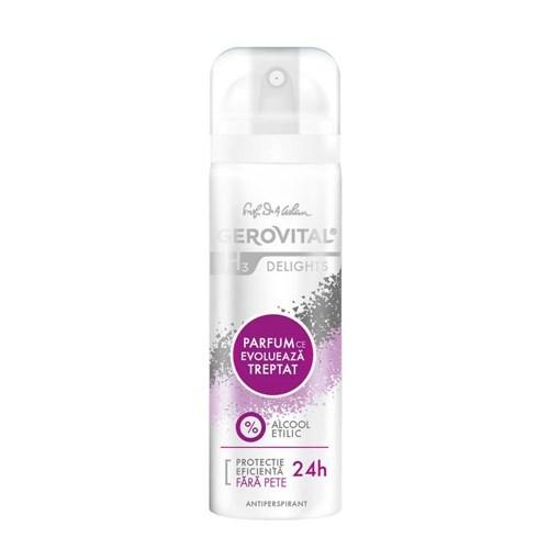 Imagine Deodorant Gerovital H3 Delights 150ml