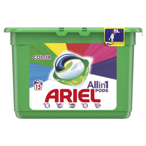 Imagine Detergent capsule Ariel activ gel, color pods 15*28 ml