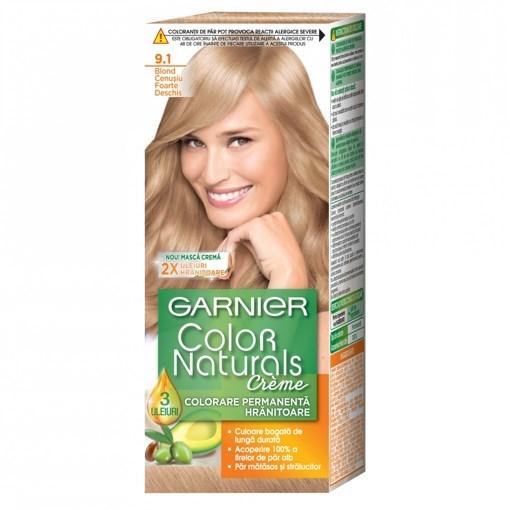 Imagine Garnier vopsea de par 9.1 Blond F Deschis Cenusiu