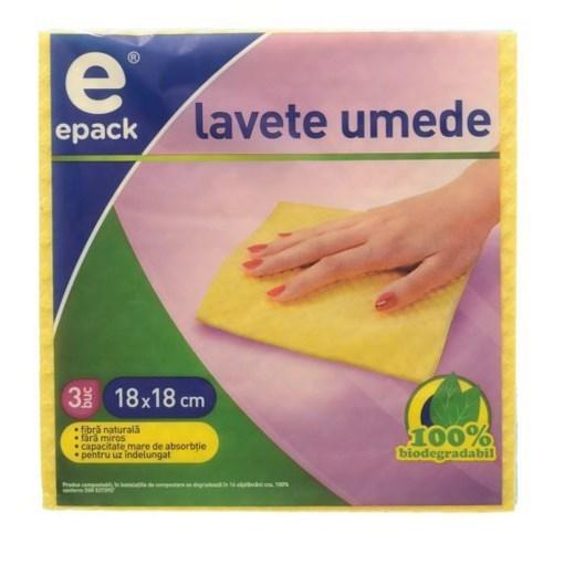 Imagine Lavete umede Epack 18 x 18 cm, 3buc/set
