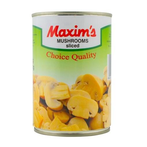 Imagine Maxim's International - Ciuperci taiate in cutie, 400 gr.