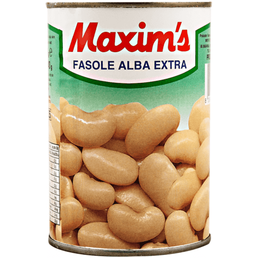 Imagine Maxim's Premium - Fasole Alba Extra, 400 gr.