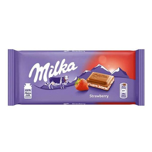Imagine Milka ciocolata capsuni 100g