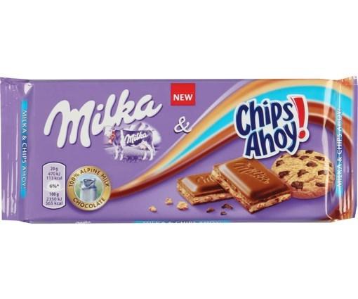 Imagine Milka Crema si Biscuit 100 gr.