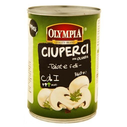 Imagine OLYMPIA- Ciuperci taiate 360 g