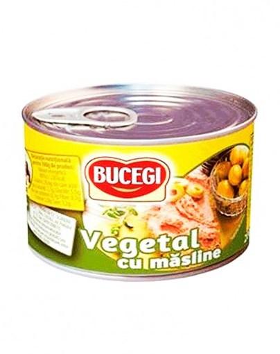 Imagine Pate Bucegi Vegetal cu masline 200g