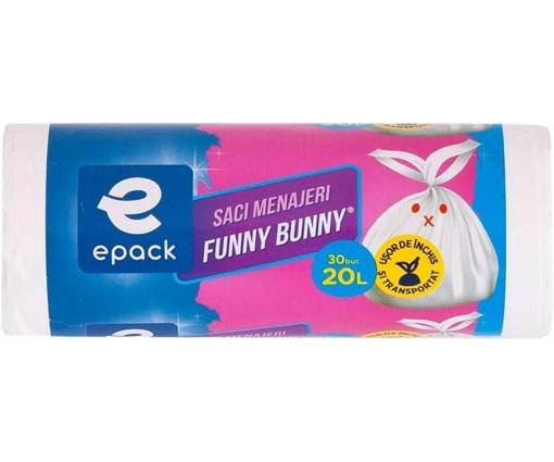 Imagine Saci menaj Funny Bunny 20L, 30buc