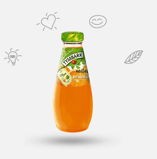 Imagine Tymbark Nectar portocale 0.25L