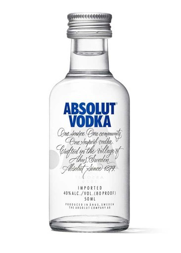 Imagine Vodka Absolut Blue 50ml