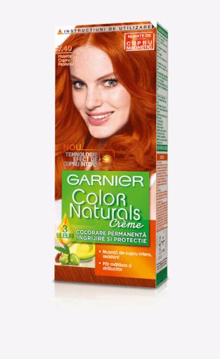 Imagine Vopsea Garnier Color Naturals 7.40 Cupru