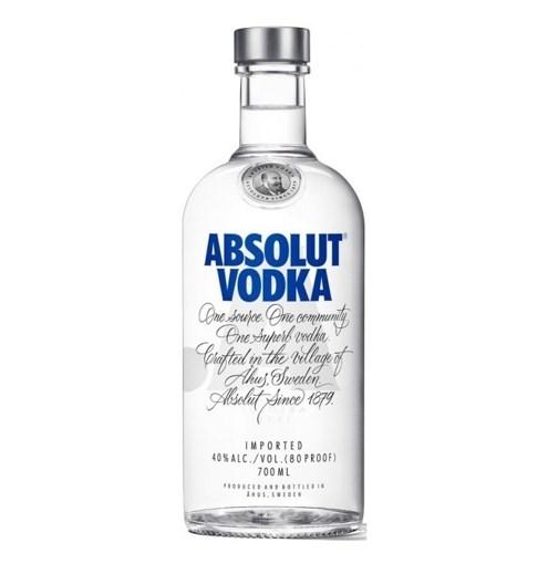 Imagine Absolut Vodka Blue 700ml