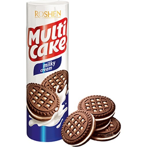 Imagine Biscuiti Multicake Lapte, 180 gr.