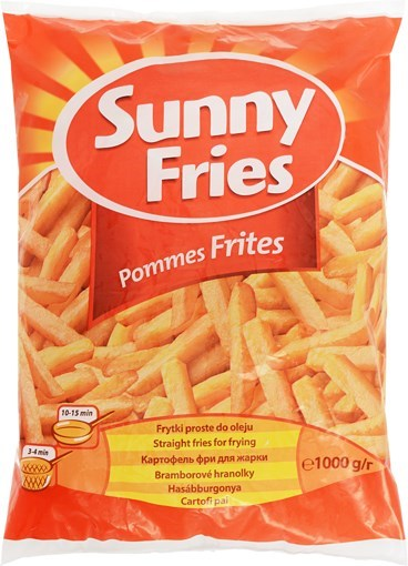 Imagine Cartofi prajiti Aviko Sunny Fries, 1kg, 10mm