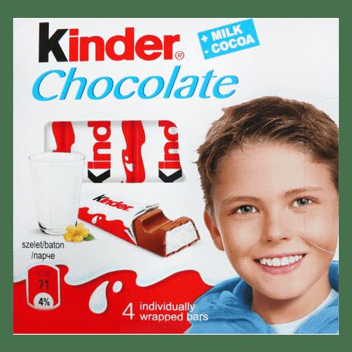 Imagine Kinder Chocolate T4x20x8