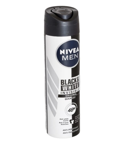 Imagine Nivea Men White Invisible Original