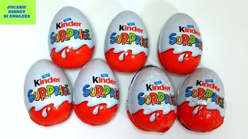 Imagine Ou de ciocolata cu surprize Kinder Surprise Troli