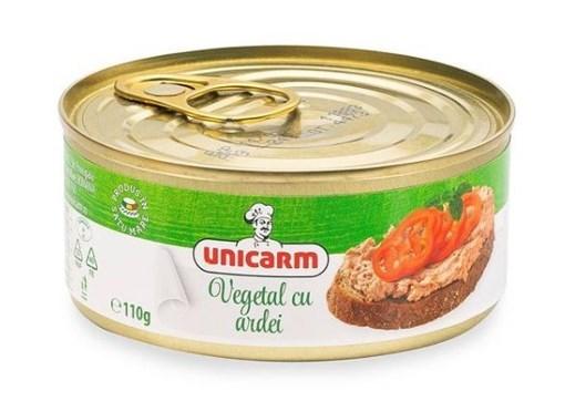Imagine Pateu vegetal cu ardei Unicarm 110g