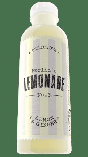Imagine Limonada Merlin`s Lemonade No. 3 Ginger & Lemon 500ml