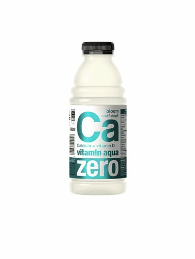 Imagine Apa cu vitamine Merlins CA ZERO VITAMIN AQUA Cocos & Ananas 0.6l