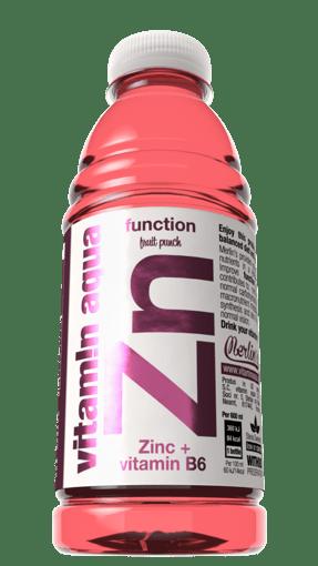 Imagine Apa cu vitamine cu Zinc si Vitamina B6 cu aroma de Fructe 0.6l