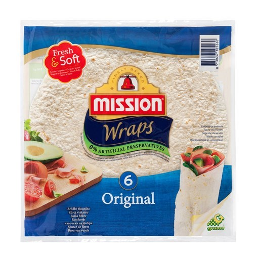 Imagine Mission Wraps Grilled 370 g