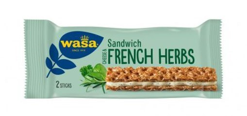 Imagine Wasa Sandwich branza si ierburi franceze 30g