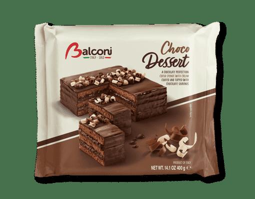 Imagine Prajitura de ciocolata Choco Dessert Balconi 400 g