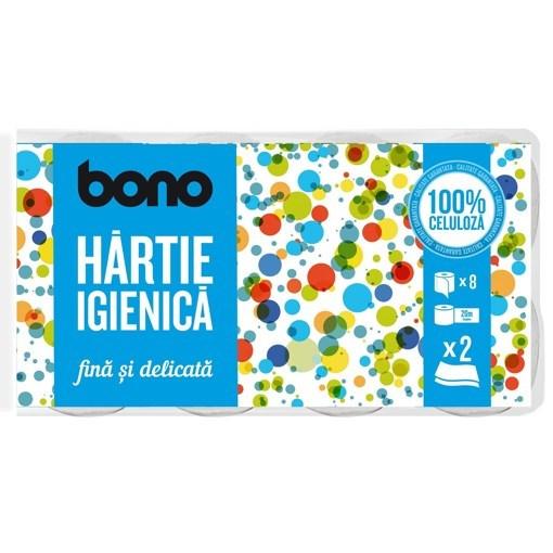 Imagine Hartie igienica BONO 8 role, 2 straturi