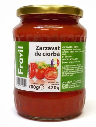 Imagine Zarzavat de Ciorba, Fravil 700g
