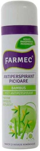 Imagine Antiperspirant picioare Farmec 150ml