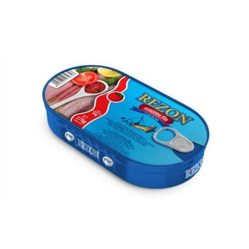 Imagine Rezon File Macrou in sos tomat 170 gr.