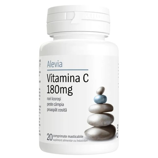 Imagine Vitamina C Alevia 180mg, 20cp