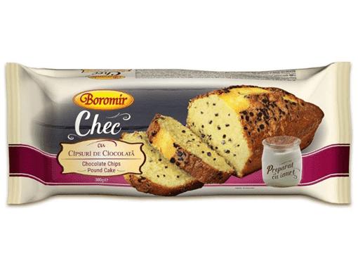 Imagine Chec Boromir cu chipsuri de ciocolata 300g