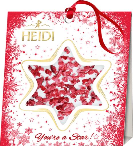 Imagine Steluta cu ciocolata si merisor Heidi 15g