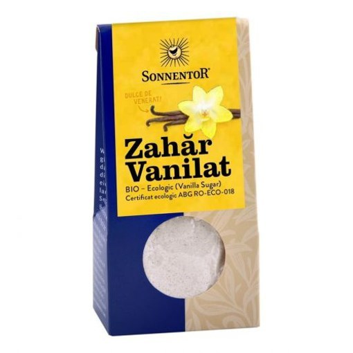Imagine ZAHAR VANILAT ECO SONNENTOR 50gr