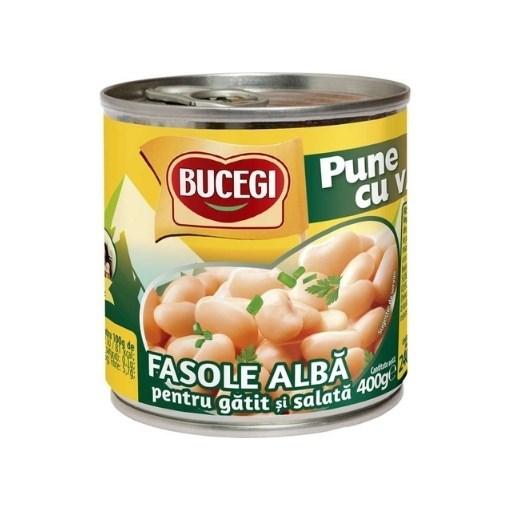 Imagine Bucegi Fasole alba pentru gatit si salata 400g