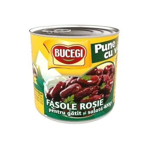 Imagine Bucegi Fasole rosie pentru gatit si salata 400g