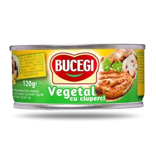 Imagine Bucegi Pasta Vegetala cu Ciuperci 120g