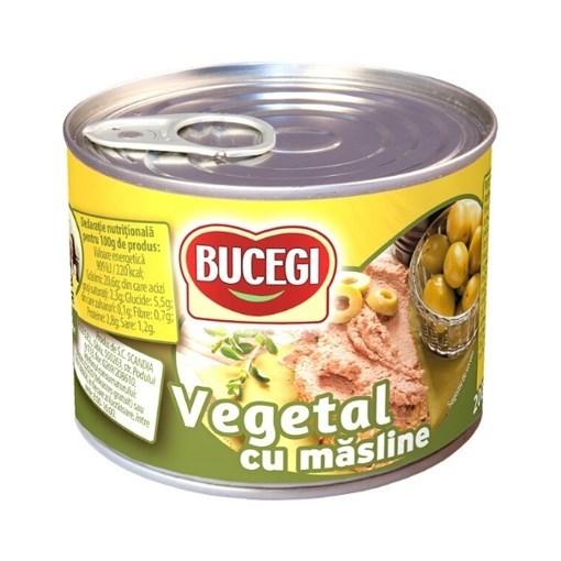 Imagine Bucegi Pasta Vegetala cu Masline 200g