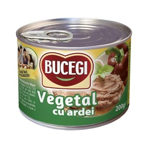 Imagine Bucegi Pasta Vegetala cu Ardei, 200 gr.
