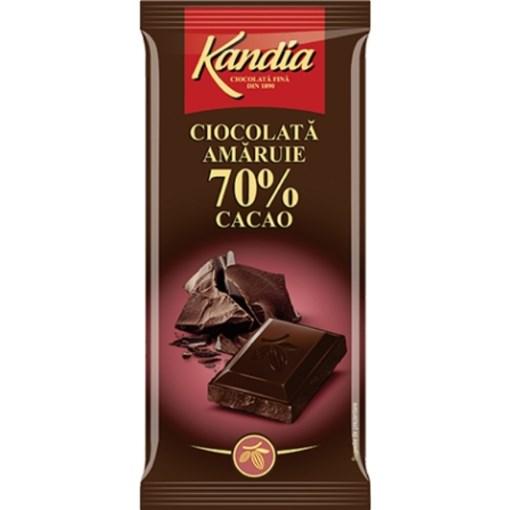 Imagine Ciocolata Kandia Amaruie 70%, 80g