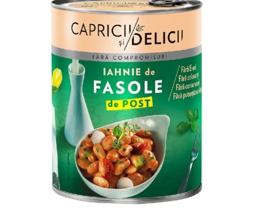 Imagine Iahnie de fasole Capricii si Delicii 400gr
