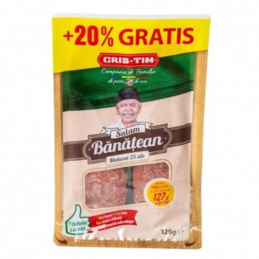 Imagine Salam Banatean Cris-Tim, 127g (100 g + 20%)